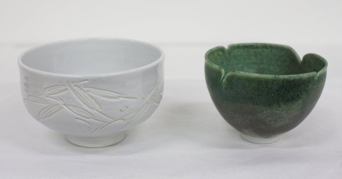 Japanese stoneware chawan [teabowl]