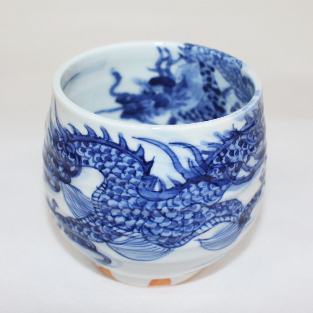 Japanese blue and white porcelain chawan [teabowl]