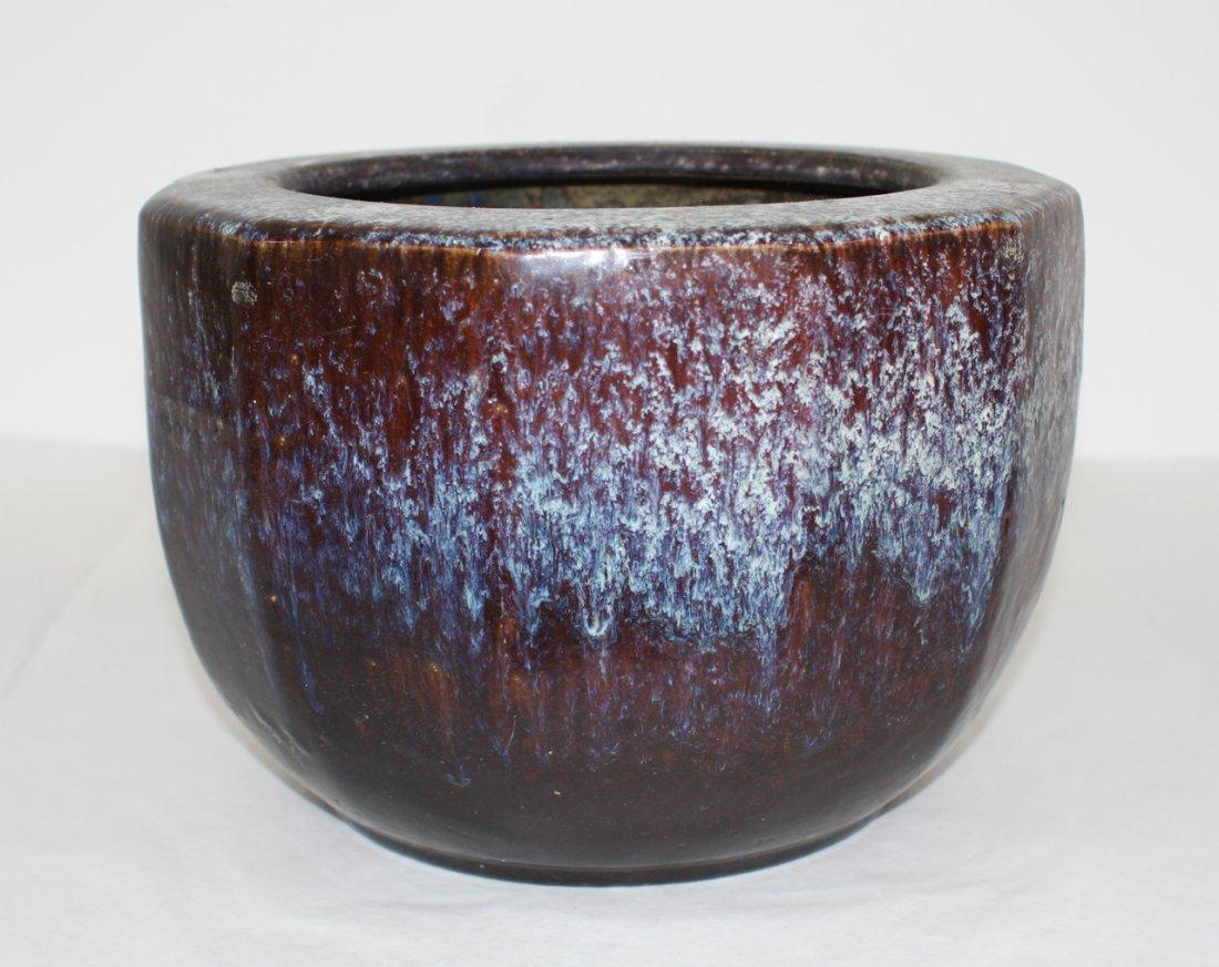Japanese Jun glazed hibachi