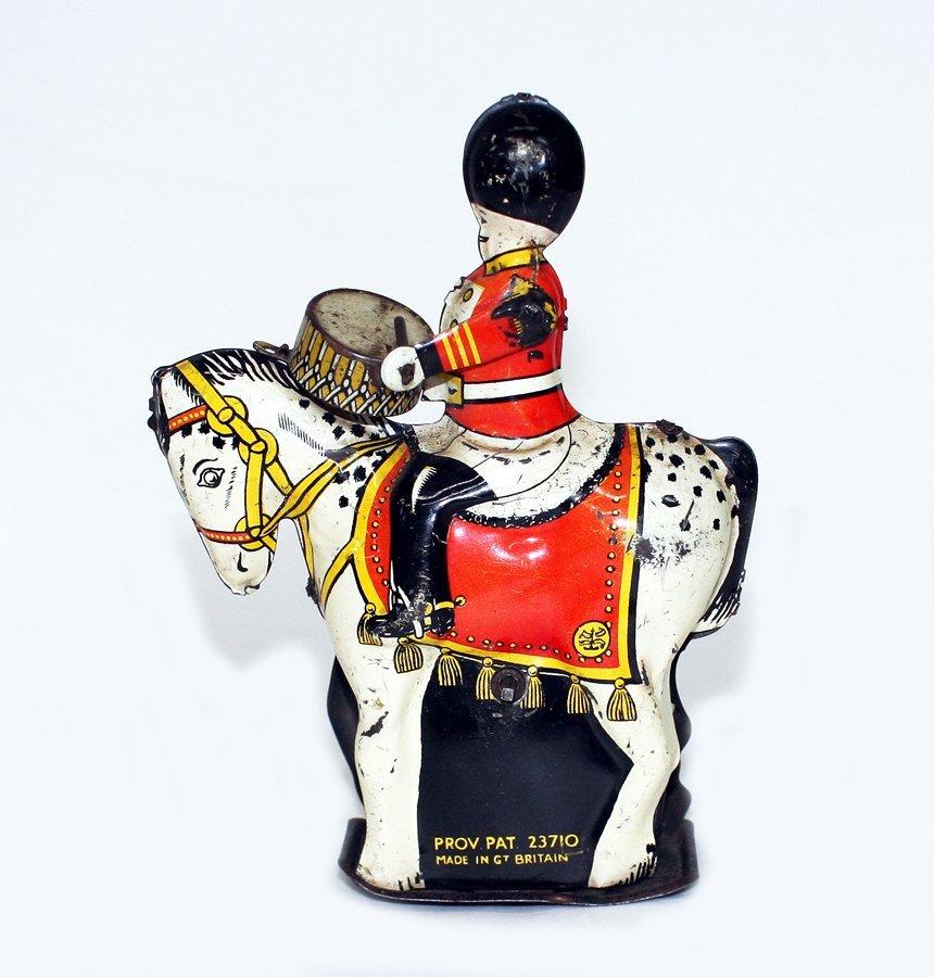 Royal Guards Drummer on horseback