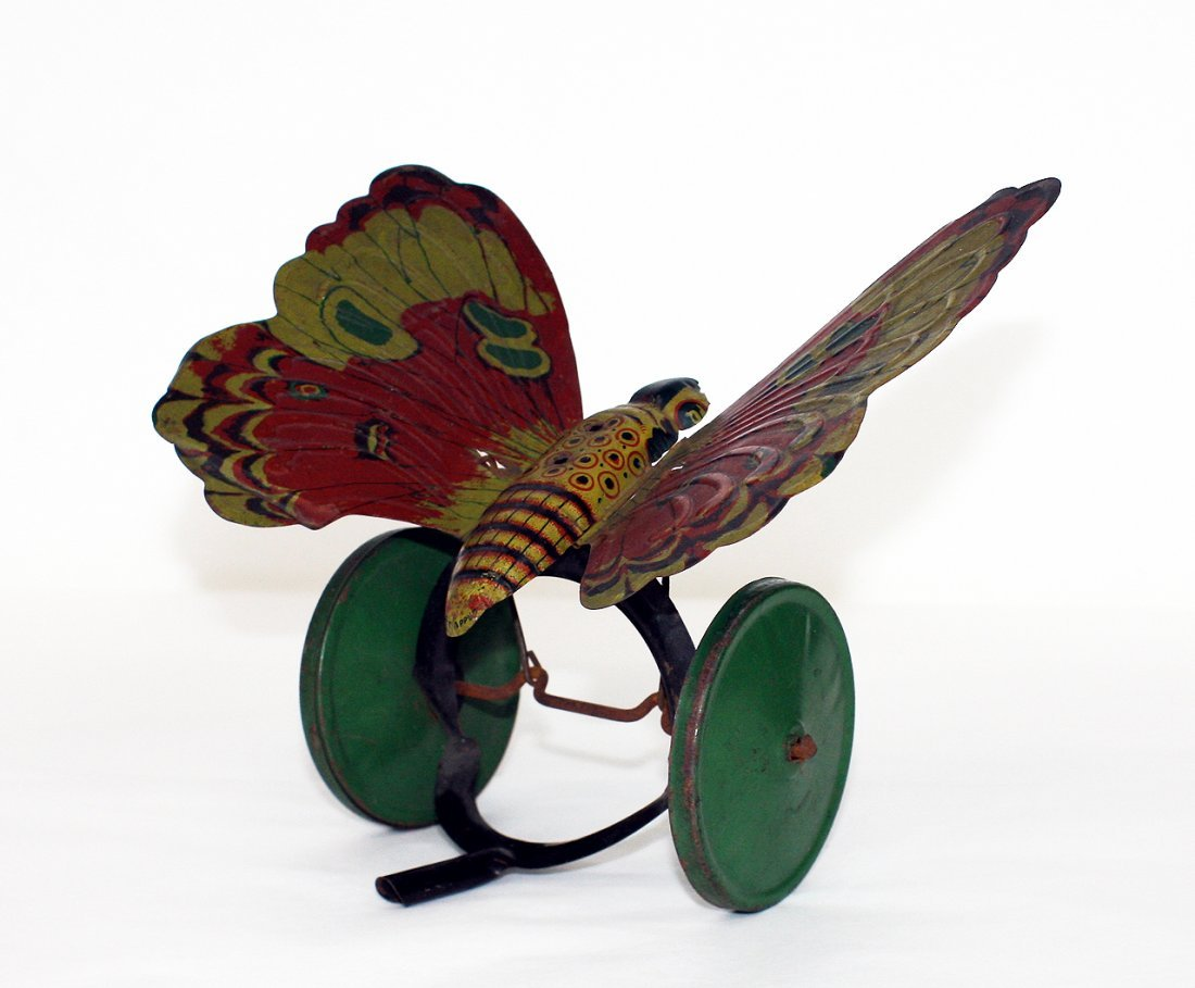"""Butterfly """"Push"""" Toy"""