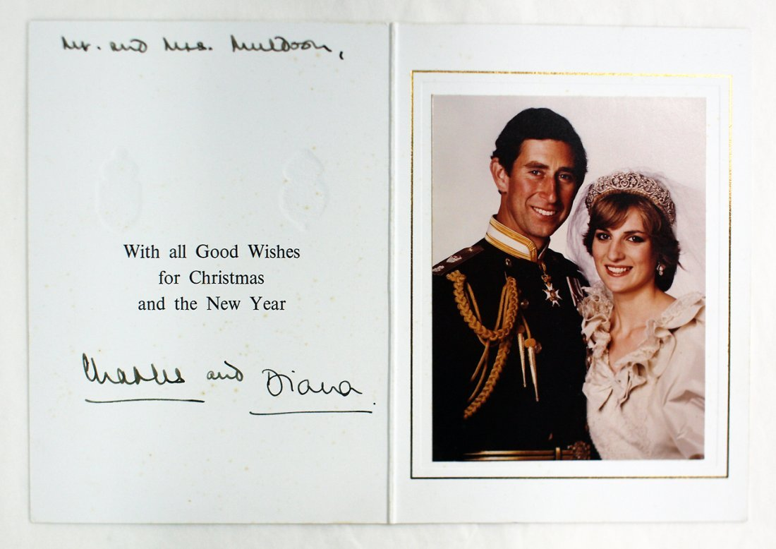 CHARLES AND DIANA,