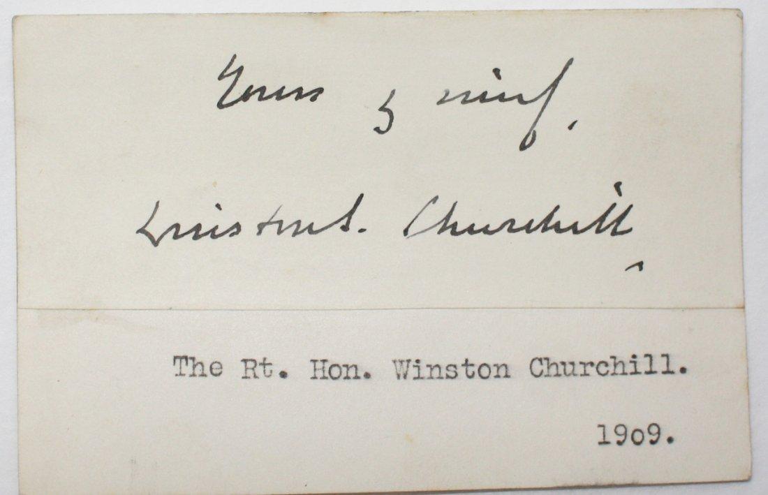 CHURCHILL , WINSTON