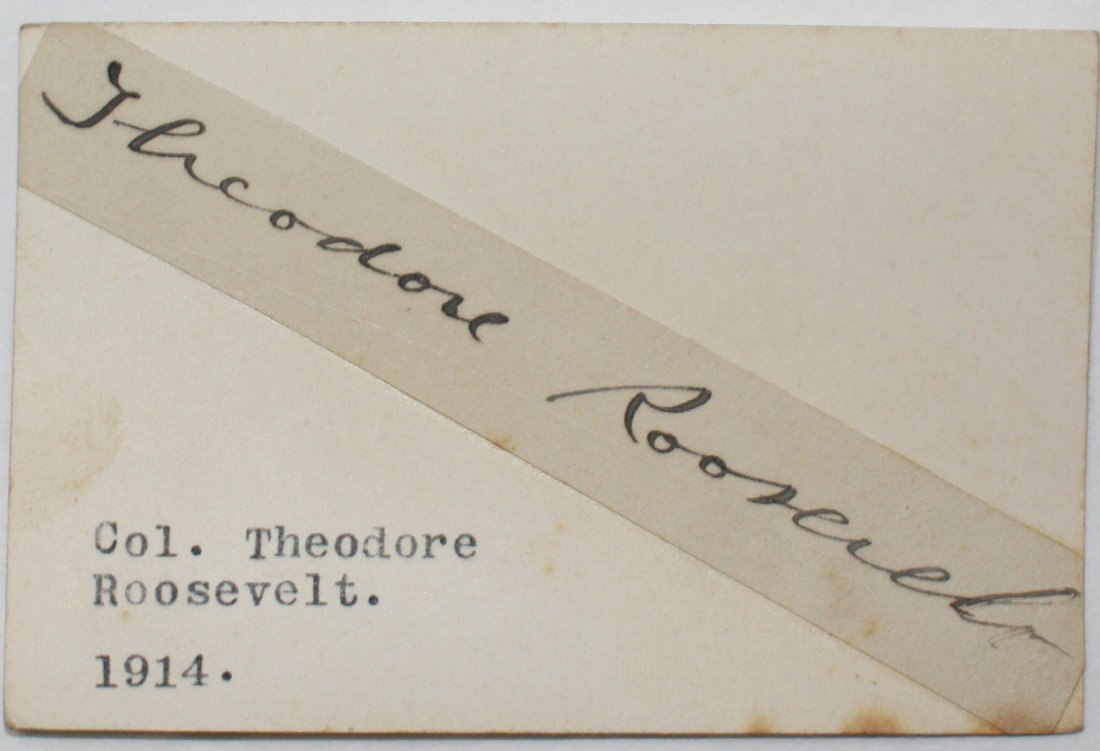 ROOSEVELT , THEODORE