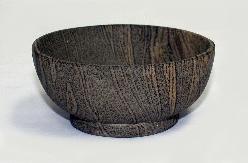 Chinese unglazed marble ware bowl