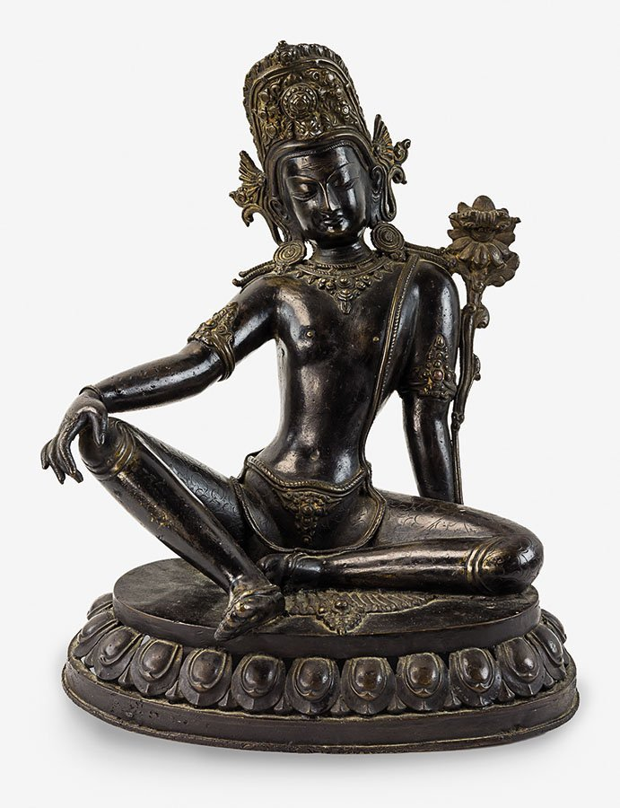 Tibetan bronze of Green Tara