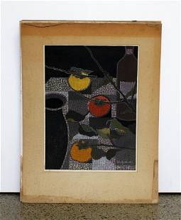 Group of seven Japanese woodblock prints