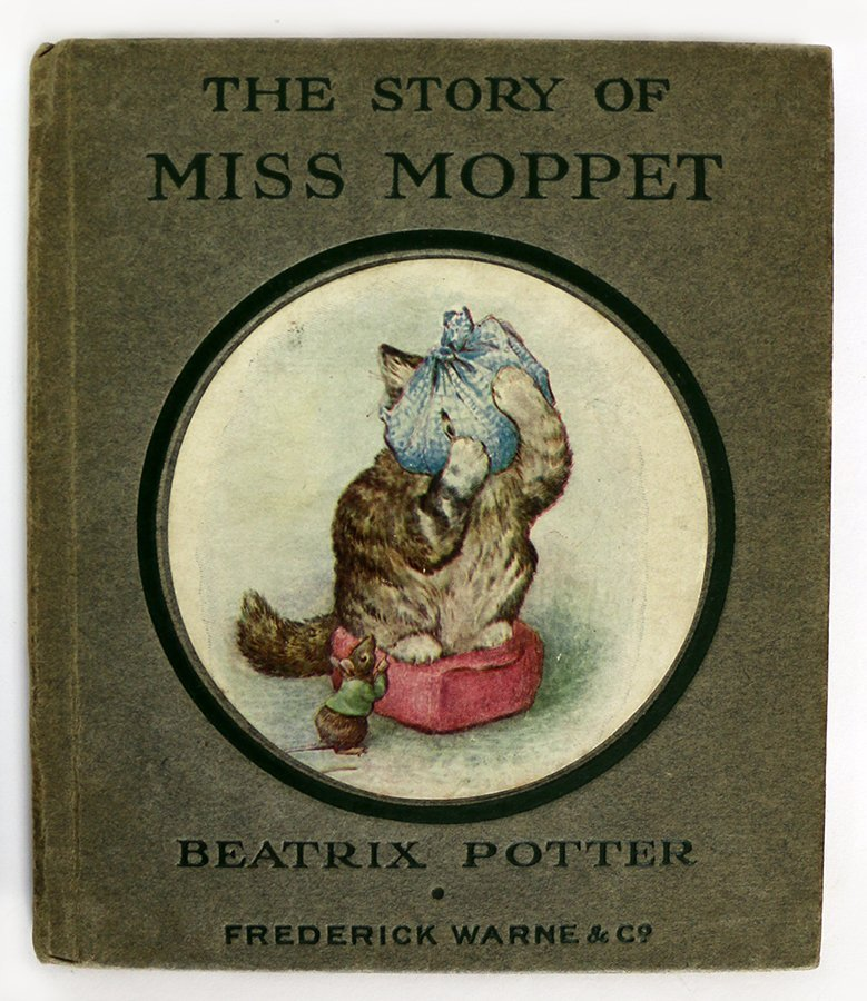 POTTER, BEATRIX, The Story of Miss Moppet.