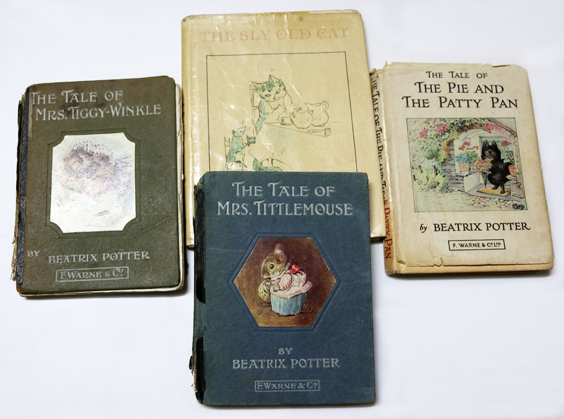 POTTER, BEATRIX, The Tale of Mrs Tittlemouse [Plus]