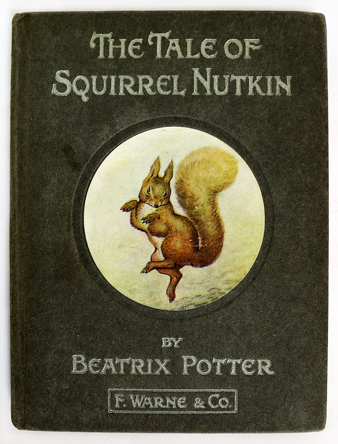 POTTER, BEATRIX, The Tale of Squirrel Nutkin