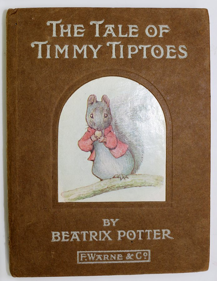 POTTER, BEATRIX, The Tale of Timmy Tiptoes