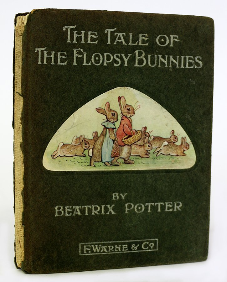 POTTER, BEATRIX, The Tale of the Flopsy Bunnies