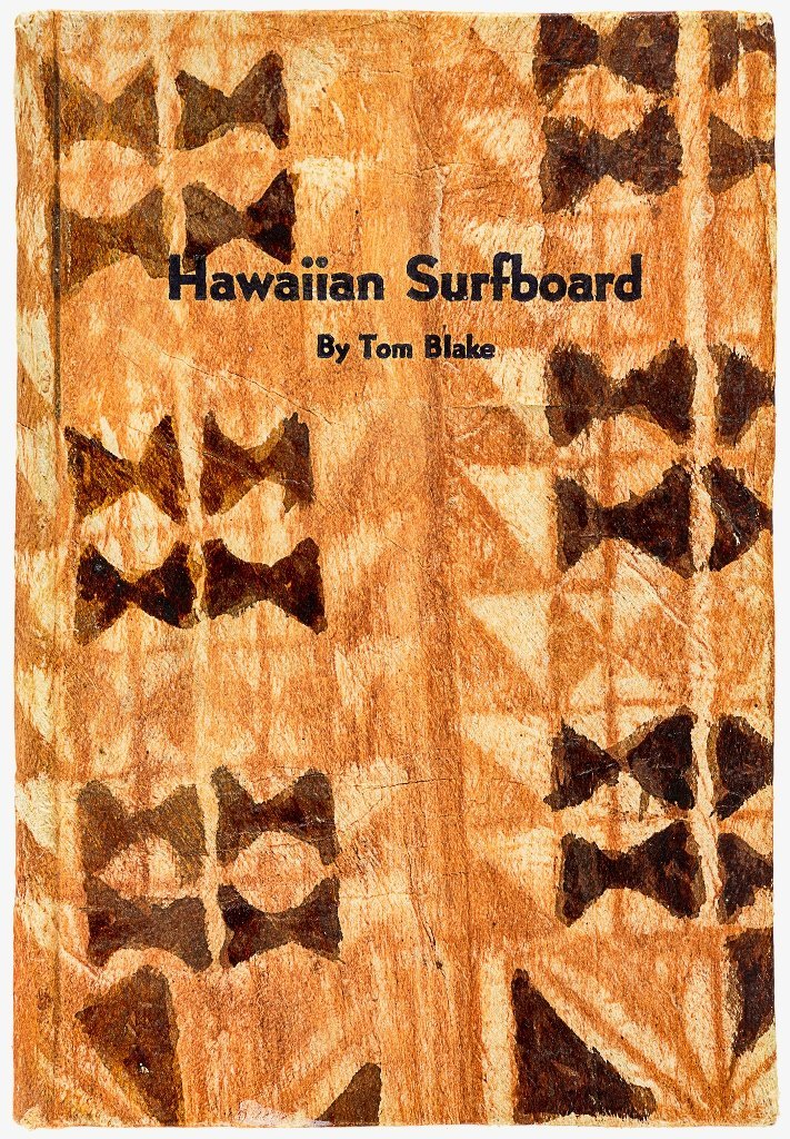 BLAKE, TOM [1902-1994], Hawaiian Surfboard