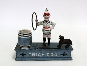 Trick Dog Bank, Hubley Brand