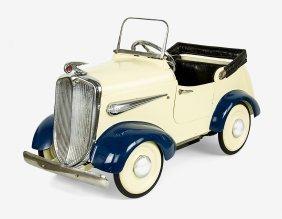 Vintage Pedal Car Convertible No.8