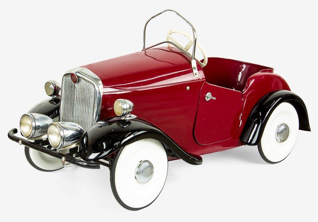 Vintage pedal car Roadster No.10