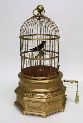 Victorian Coin-operated Singing Bird Automaton