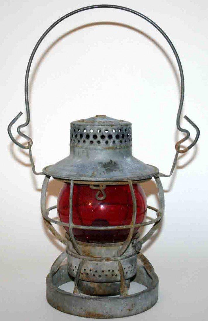 470: Railroad Lantern, Stamped Dressel Arlington, NJ. R