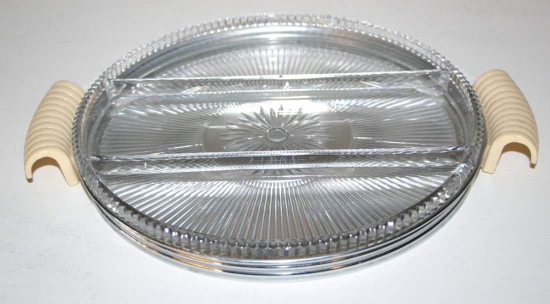Chase Fairfax Relish Tray with Insert