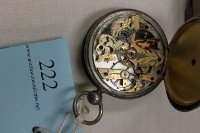 222: HUNTERS POCKET WATCH, PATENT LEVER, FULL JEWELLED, - 3