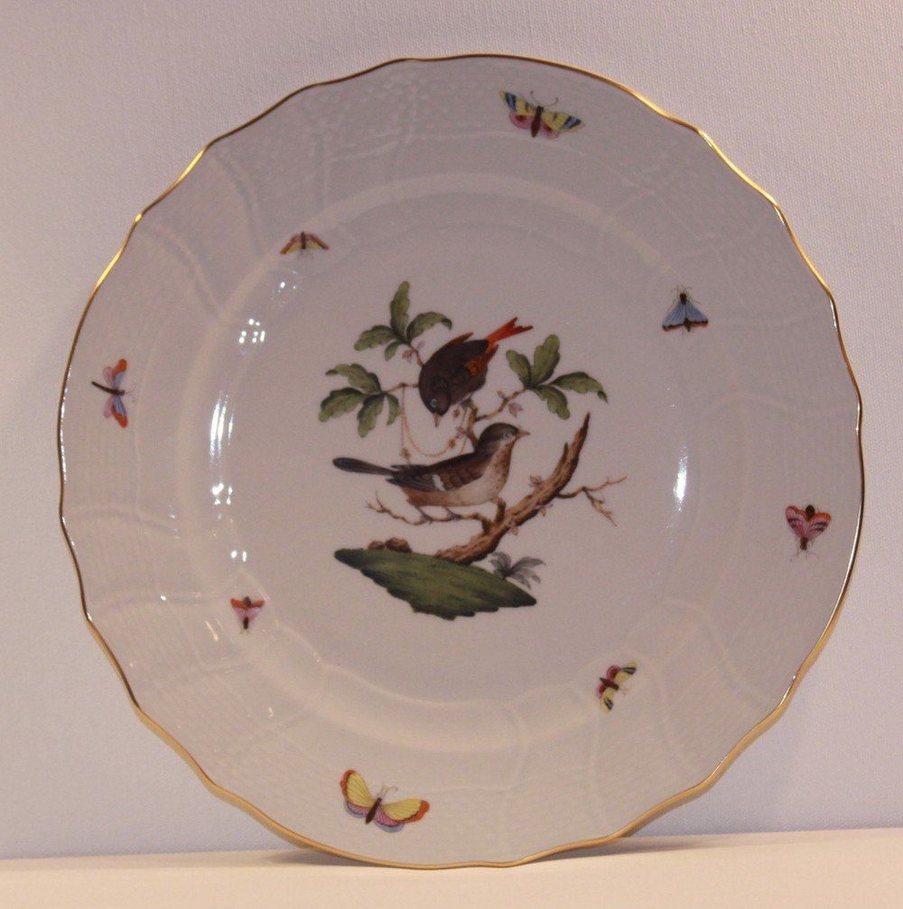 "3: Herend Rothschild 10"" Dinner Plate"