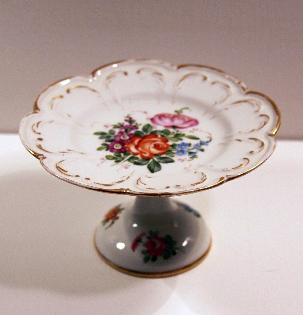 7: Meissen Floral Compote