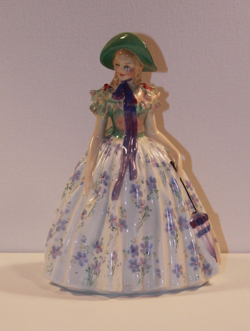11: Royal Doulton Easter Day Figurine retired 1951
