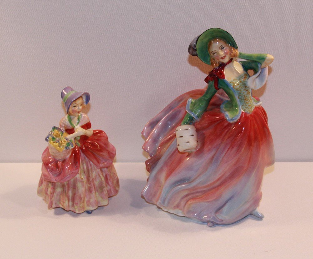 13: Two Royal Doulton Figurines - Cissie and Autumn Bre