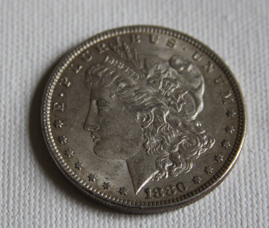 6: 1880 Morgan Silver Dollar