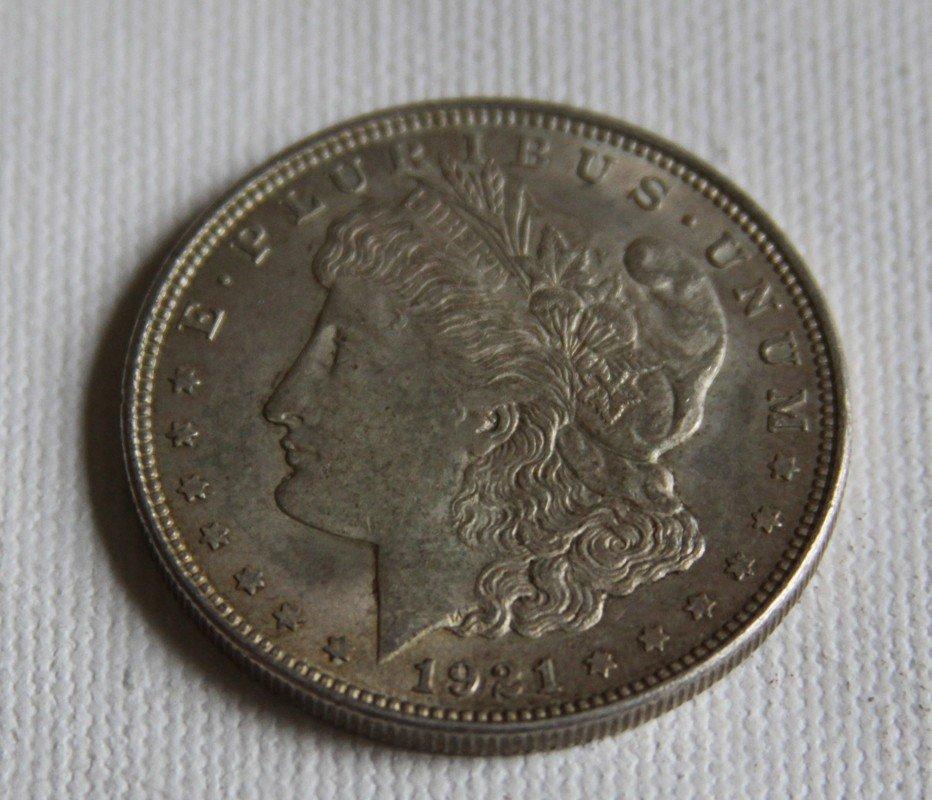 11: 1921 Morgan Silver Dollar