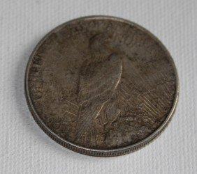 22: 1922 Silver Peace Dollar