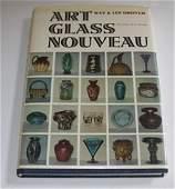 212B: Book Art Glass Nouveau by Grover