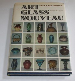 212B: Book Art Glass Nouveau by Grover