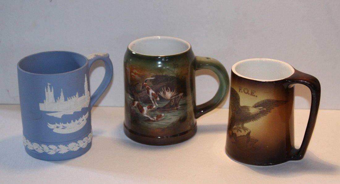 6: Royal Bayreuth, Warwick & Wedgewood Mugs