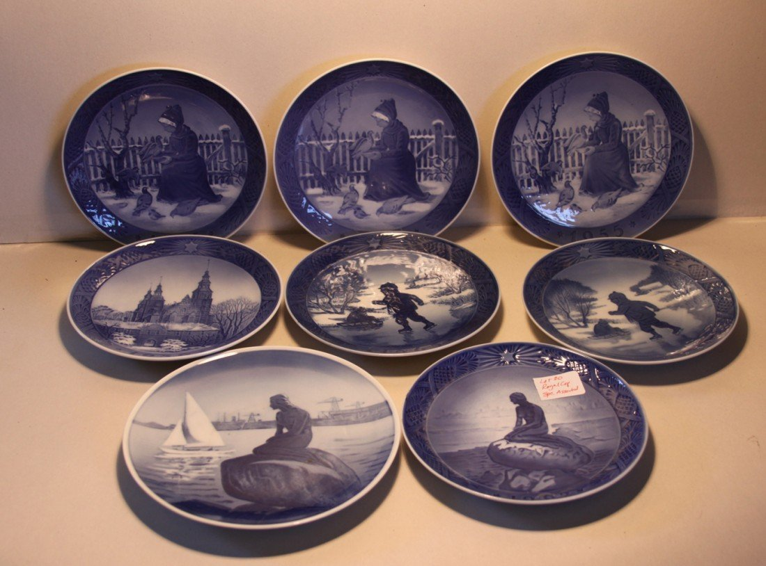20: Royal Copenhagen Collector Plates (misc)
