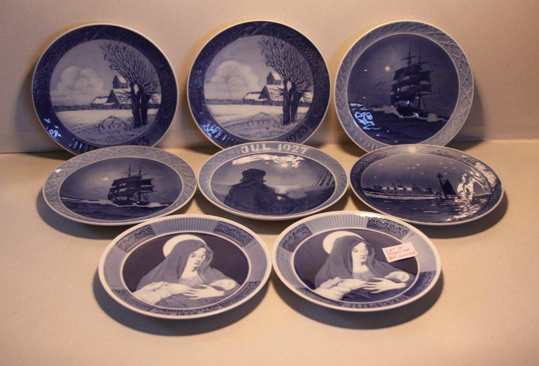 21: Royal Copenhagen Collector Plates (misc)