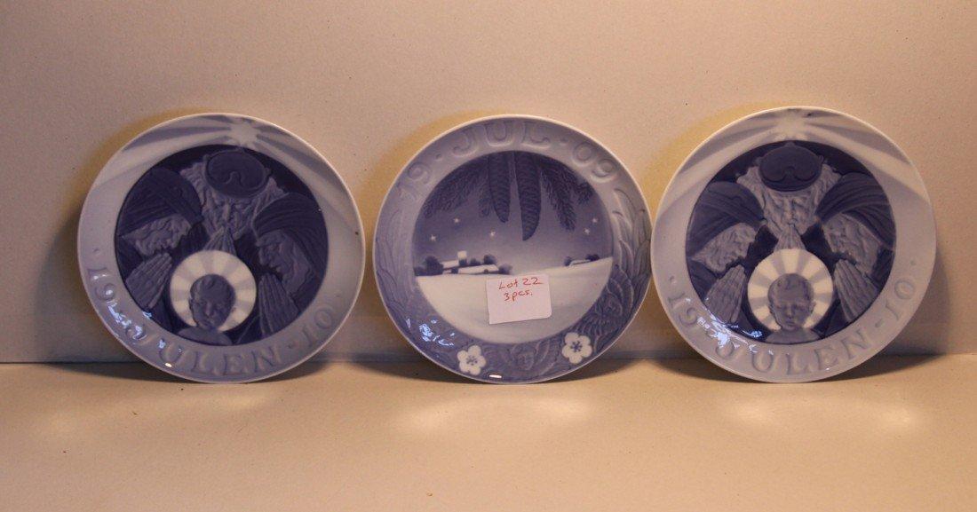 22: Royal Copenhagen Collector Plates 1909-1910