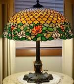 """186:  Chicago Mosaic, """"Mosaic Shade Company,"""" Lamp"""
