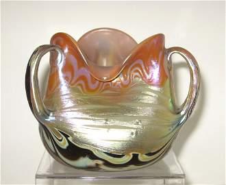 200: Magnificent Loetz Hofstotter vase,