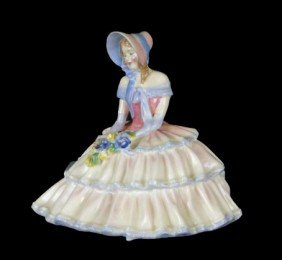 10: ROYAL DOULTON DAYDREAMS PORCELAIN FIGURINE