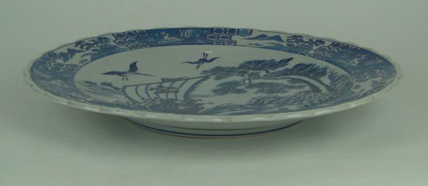 15: 19 TH CENTURY LARGE CANTON CHARGER