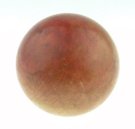 14: 19TH CENTURY EUROPEAN IVORY SNOOKER BALL