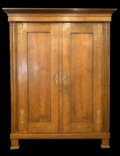 11: FABULOUS LARGE CEDAR ARMOIRE