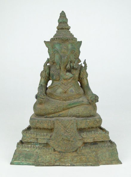 15: 1500 YEAR OLD CHINESE BRONZE GANESH