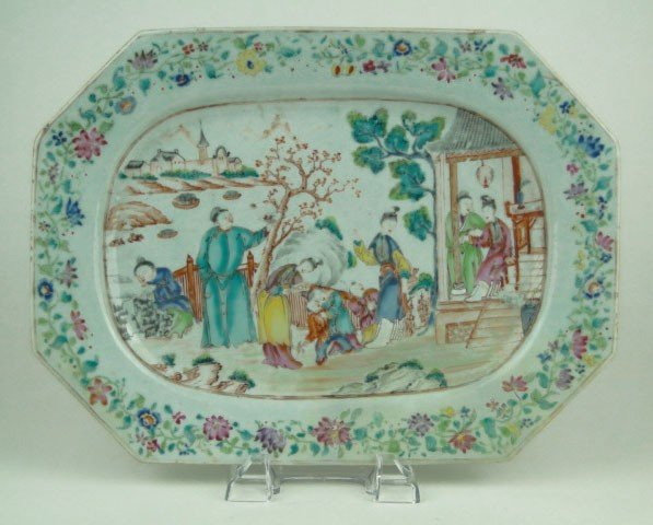 228: 18th/19th CENTURY CHINESE EXPORT PLATE
