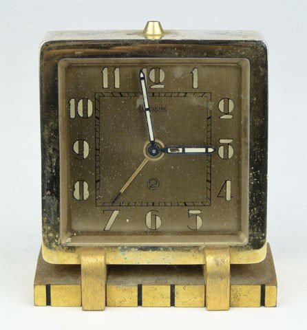 16: LE COULTRE TRAVELING ALARM CLOCK