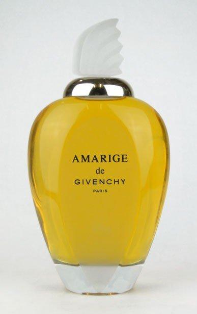 6: LARGE AMARAGE GIVENCHY FACTICE PERFUME BOTTLE