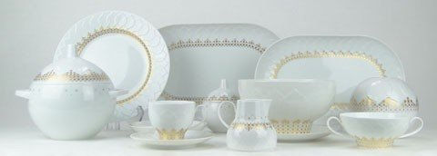122: ROSENTHAL STUDIO LINE BJORN WIINBLAD CHINA SET