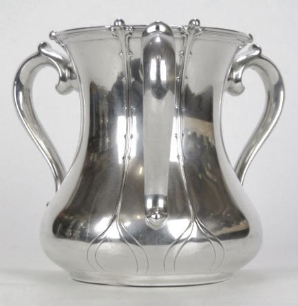 5: ANTIQUE TIFFANY & CO STERLING SILVER LOVING CUP