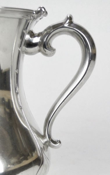 5: ANTIQUE TIFFANY & CO STERLING SILVER LOVING CUP - 3